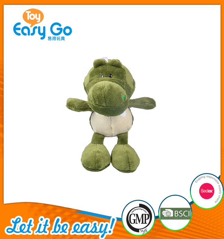 good sale high quality customized production green dinosaur